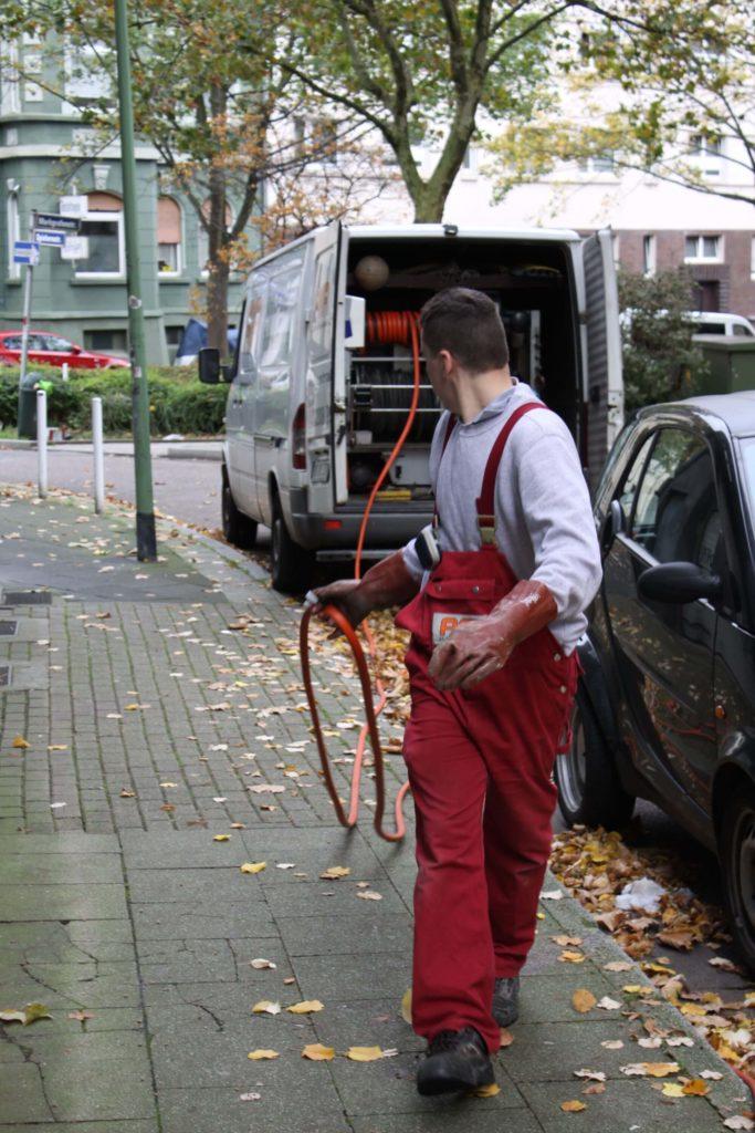 Klempner in Herne im Einsatz